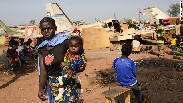 The U.N. estimates more than half the population of the Central African Republic has been affected by the humanitarian crisis.