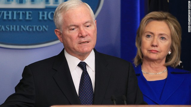 Would Gates support Clinton for Pres.?