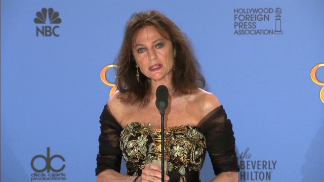 sot jacquelin bissett backstage emotional golden globes_00001810.jpg