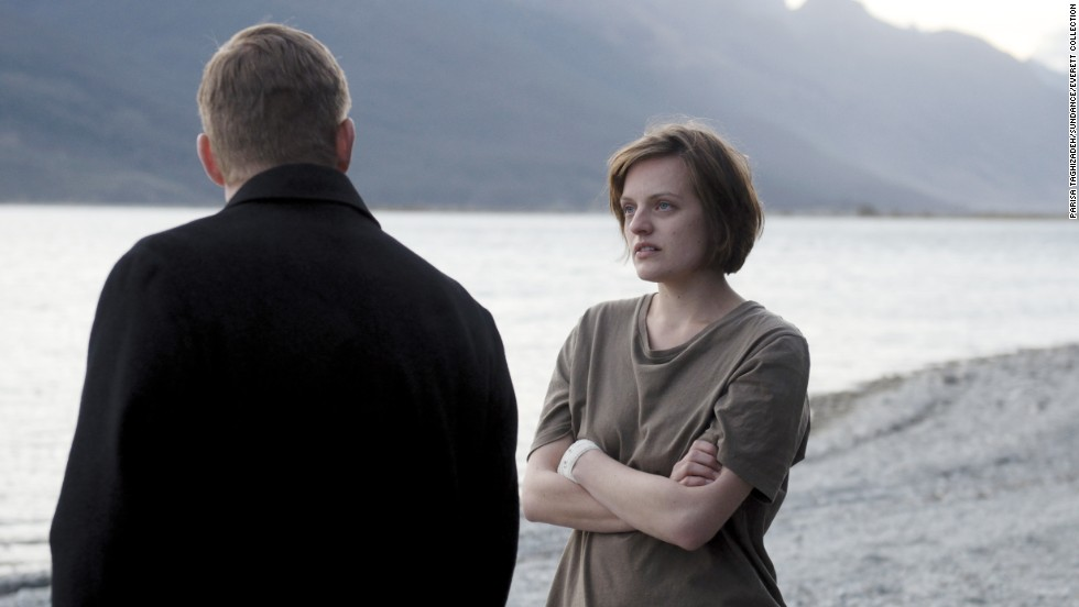 "<strong>Best actress in a <strong></strong>miniseries or TV film: </strong>Elisabeth Moss, ""Top of the Lake"""