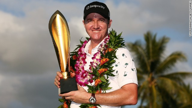 Jimmy Walker won the Sony Open at Waialae Country Club in Honolulu by one shot