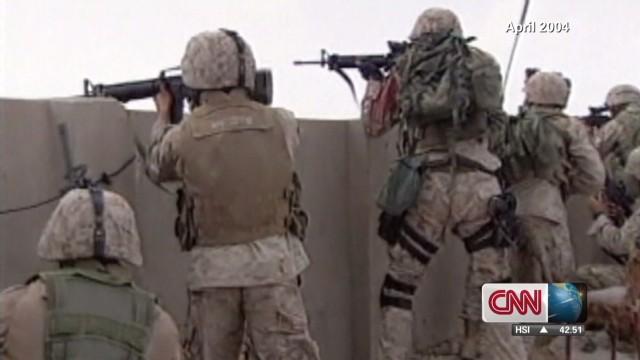 Former U.S. Marines on Falluja
