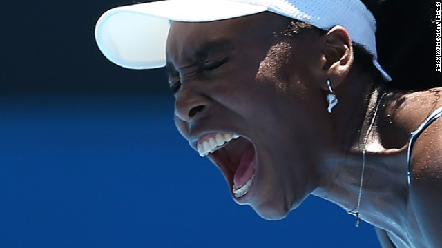 Former world No. 1 Venus Williams was a beaten finalist in Melbourne in 2003.