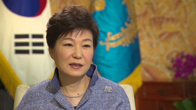 South Korean President on North Korea