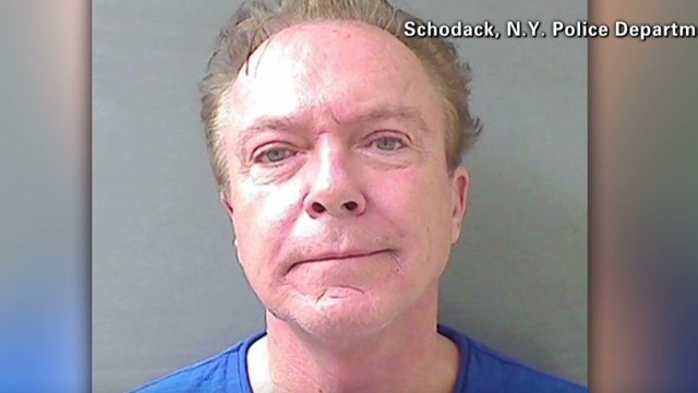 'Partridge family' star arrested again