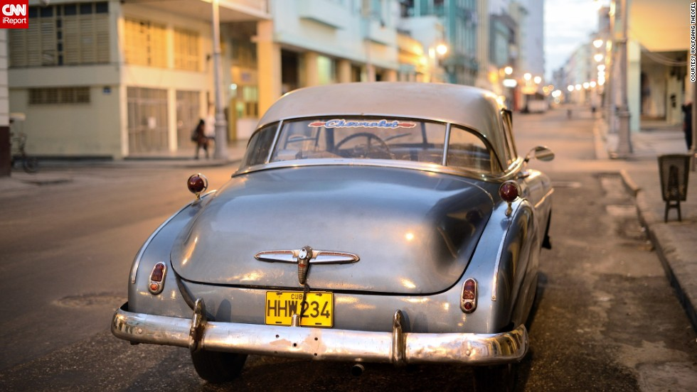 "Our iReport assignment on ""Cuba's vintage cars"" resulted in dozens of submissions from around the world. One<a href=""http://ireport.cnn.com/docs/DOC-1074325""> iReporter</a>, Wolfgang Theofel, visited Cuba in February 2013 and photographed many classic cars."