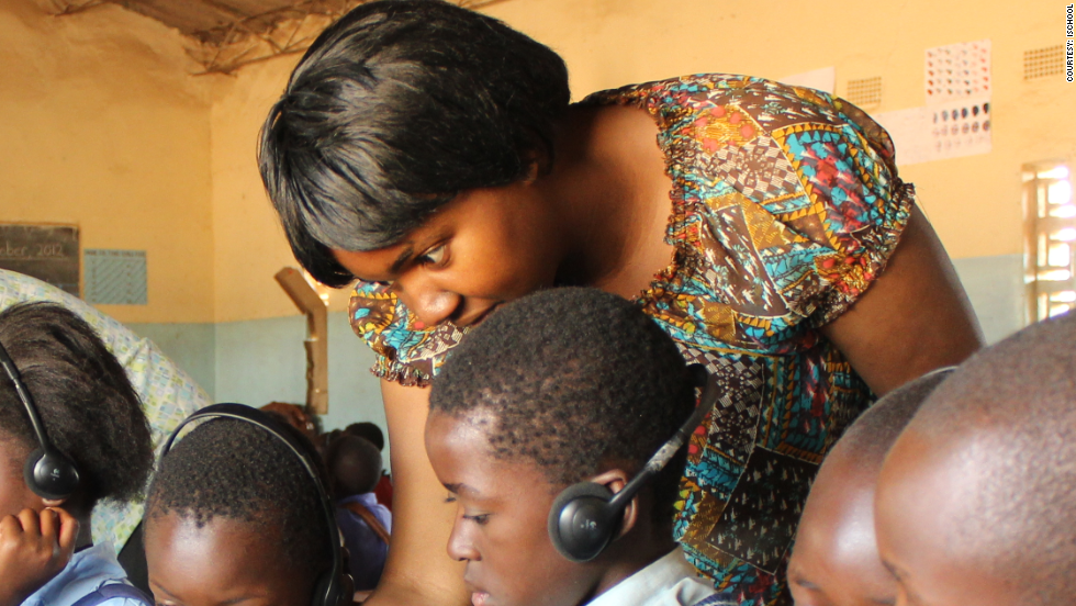 The ZEduPad costs $200 each and has a range of teaching materials for educators in remote locations.