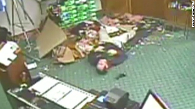 RidicuList: Worker falls through roof