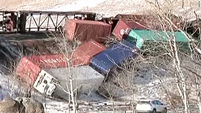 Intense winds derail train cars