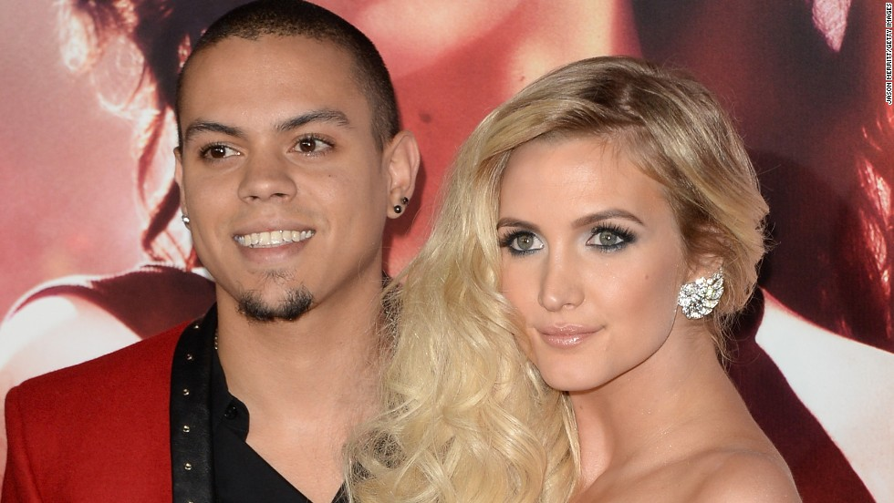 Evan Ross and Ashlee Simpson welcomed their first child together, daughter Jagger Snow Ross, in July. Simpson also has a 6-year-old son with former husband Pete Wentz of Fall Out Boy. Ross, the actor son of Diana Ross, and Simpson, a singer and the younger sister of pop star Jessica Simpson, tied the knot in August 2014.