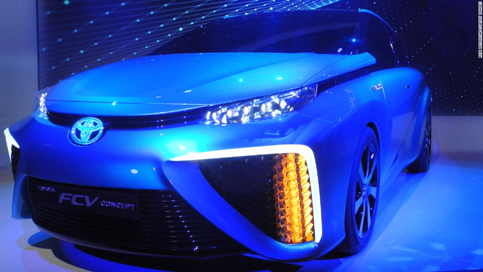 "Not everyone is betting on batteries: Toyota's move to start selling their <a href=""http://www.washingtonpost.com/business/toyota-bumps-up-hydrogen-powered-car-in-us-to-2015/2014/01/06/1c309a06-7716-11e3-a647-a19deaf575b3_story.html"" target=""_blank""><strong>hydrogen-powered FCV<strong></a></strong> </strong>in 2015 was one of the big announcements of this year's CES. Toyota will do battle with Honda and Hyundai, who have already announced plans for fuel-cell cars."