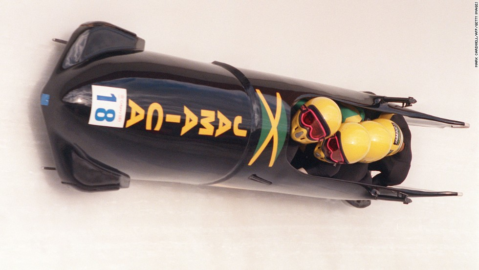"Immortalized by the popular film ""Cool Runnings,"" the Jamaica bobsled team became a huge hit with fans at the 1988 Calgary Olympics. Despite crashing out on their only competitive run, the Jamaicans won the hearts of millions across the world and qualified for the next two Games."
