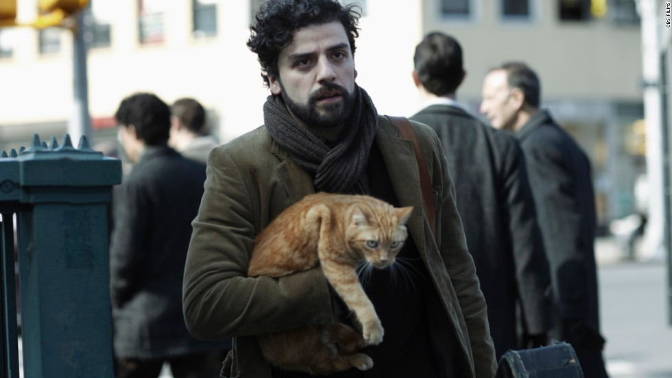 "In ""Inside Llewyn Davis,"" Oscar Isaac plays the sometimes unpleasant title character, a folksinger who is dealing with a partner's suicide, a colleague's pregnancy and the struggle for musical success."