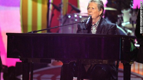 LOS ANGELES, CA - FEBRUARY 12: Musician Brian Wilson of The Beach Boys performs onstage at the 54th Annual GRAMMY Awards held at Staples Center on February 12, 2012 in Los Angeles, California. (Photo by Kevin Winter/Getty Images)