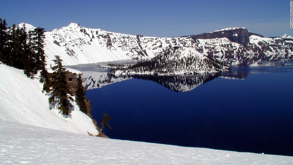 Simple and spectacular -- that's snowshoeing at Oregon's Crater Lake National Park. The park offers free guided snowshoeing hikes each Saturday and Sunday. And easing into a year of fitness with snowshoeing is an option for residents of any sufficiently snowy locale.