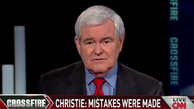 Gingrich: Obama should learn from Christie