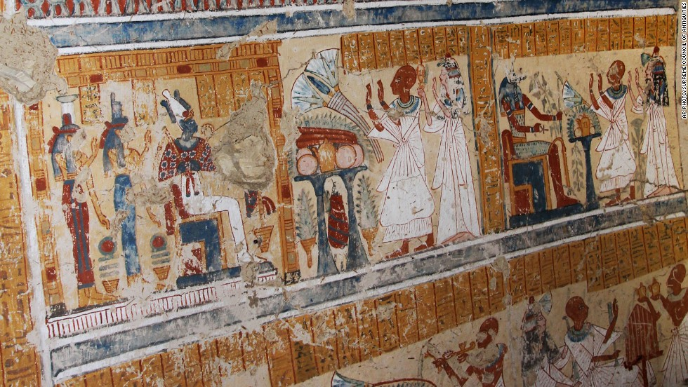 A Japanese team from Waseda University stumbled on the tomb of ancient beer-maker while cleaning the courtyard of another tomb at the Thebes necropolis in the Egyptian city of Luxor.