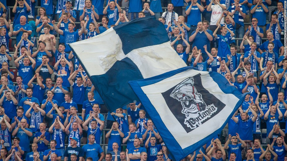 Fans of Polish football club Lech Poznan fans were found not guilty of anti-Semitic chanting by a  prosecutor. The club has vowed to eradicate anti-Semitism and says it is working to educate supporters.