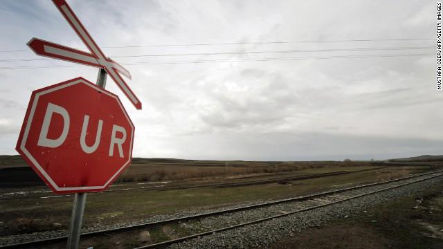 Turkey's big, very big -- and train travel reveals it.