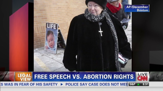 Free Speech vs. Abortion Rights