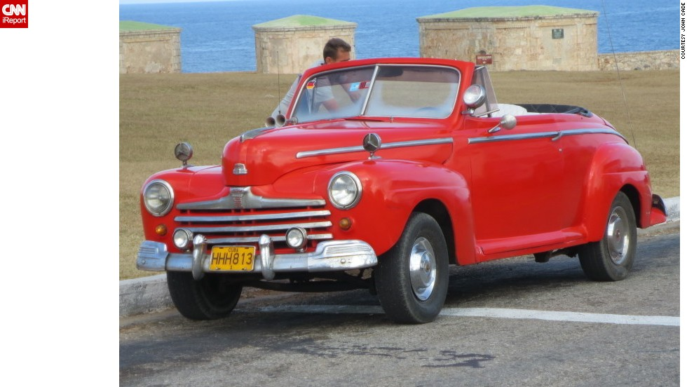 "<a href=""http://ireport.cnn.com/docs/DOC-1075316"">John Cade</a> of London, Ontario, vacationed in Havana in 2013 for a week and said the vintage cars were worth the trip alone."
