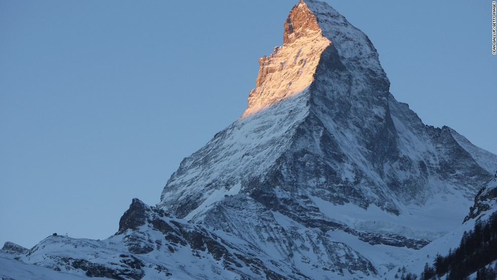 Hiking in the shadow of the Matterhorn in Zermatt, Switzerland, is not a bad way to spend a summer day.