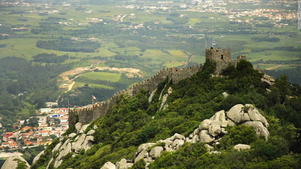 A trek to this Moorish castle in the Portuguese village of Sintra is just one of the stops on a hiking tour along the country's rugged Atlantic coast.