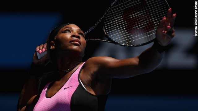 Serena Williams' best move?