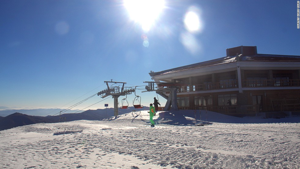 The resort suffered setbacks including difficulty importing ski lifts. Austrian and French companies declined to sell lifts to the regime, while the Swiss government blocked a potential sale from a Swiss company. The lifts currently in place were made in China.