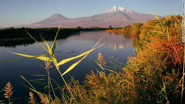 Ararat: mentioned in the Bible, although don't use it as a guide book.