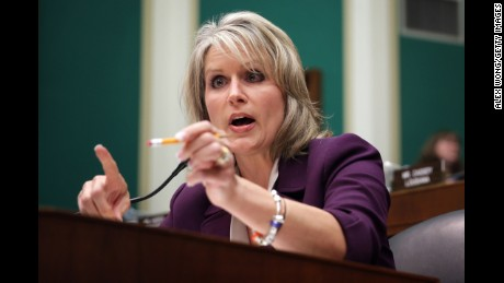 WASHINGTON, DC - OCTOBER 24:  U.S. Rep. Renee Ellmers (R-NC) speaks during a hearing on implementation of the Affordable Care Act before the House Energy and Commerce Committee October 24, 2013 on Capitol Hill in Washington, DC. Developers who helped to build the website for people to buy health insurance under Obamacare testified before the panel on what had gone wrong to cause the technical difficulties in accessing the site.  (Photo by Alex Wong/Getty Images)