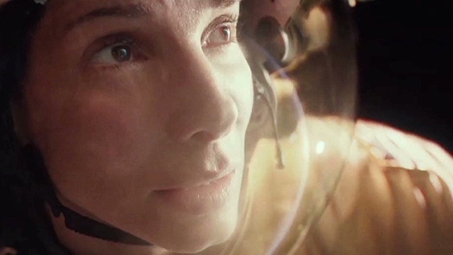 Sandra Bullock up for 'Gravity'