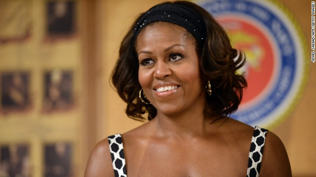 First lady Michelle Obama turns 50 on Friday.
