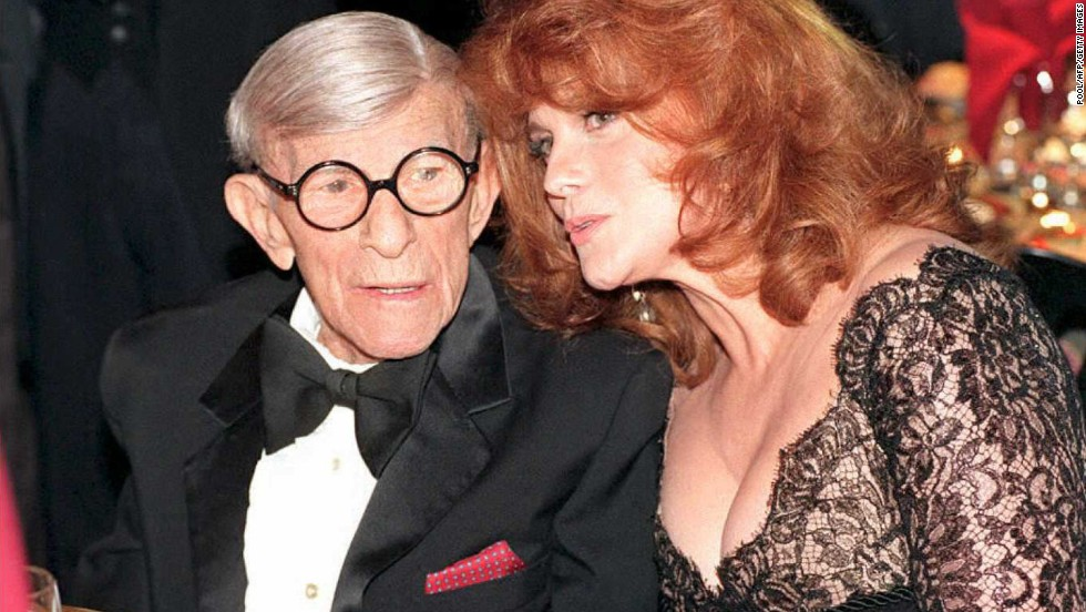 George Burns (1994), with Ann-Margret.