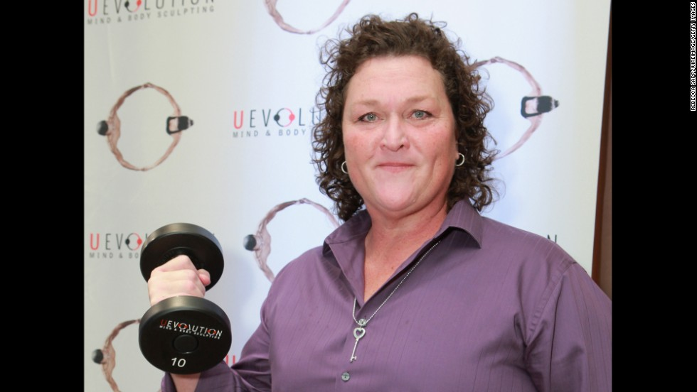 "Dot Jones, who plays Shannon Beiste on the hit TV show ""Glee,"" turned 50 on January 4."
