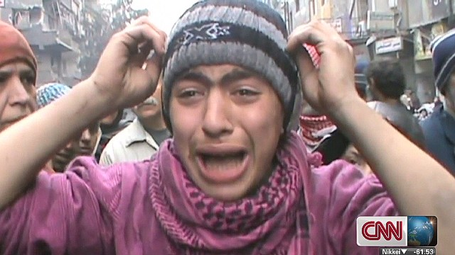 Syrian refugee's desperate cry for help