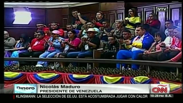 exp xavier cnn dinero Lo que dijo Maduro en materia economica_00002001.jpg