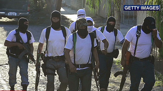 Vigilantes join fight in Mexico drug war