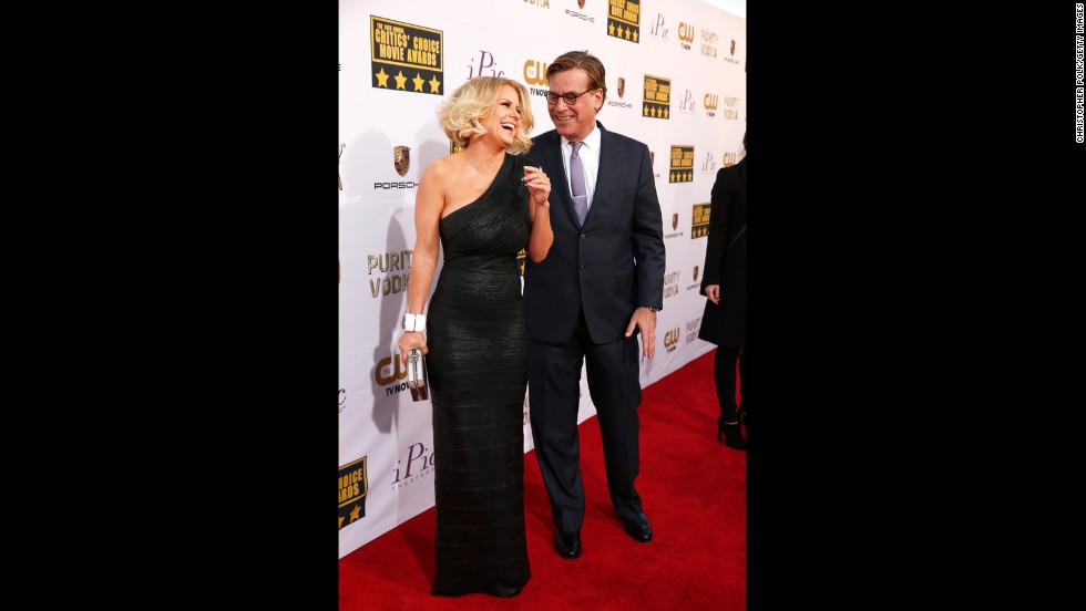 Carrie Keagan and Aaron Sorkin