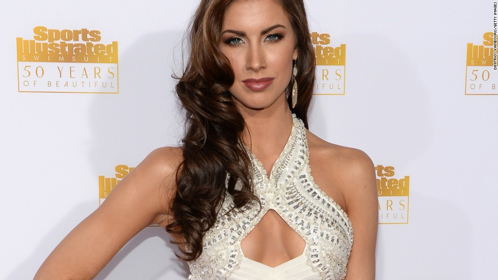 Another model at the party was Katherine Webb who appeared in the 2013 Sports Illustrated swimsuit issue.