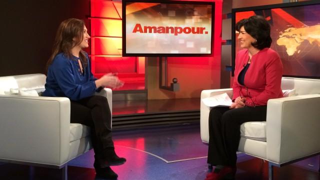 CNN's Christiane Amanpour interviews former Facebook Marketing Director Randi Zuckerberg.