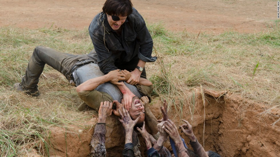 "<strong>""The Walking Dead"": </strong>It probably should not come as a surprise that the most popular scripted series on TV is also among the most violent."