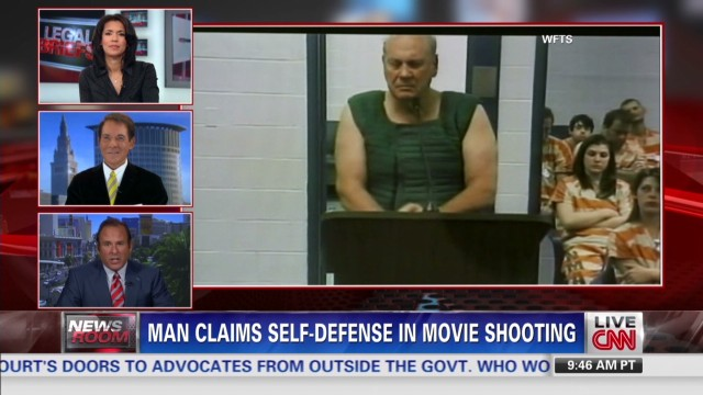 Man claims self-defense in movie shooting