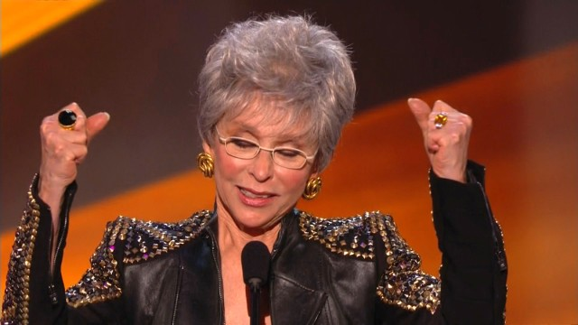 Rita Moreno sings at SAG awards