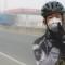 China smog bike Wu