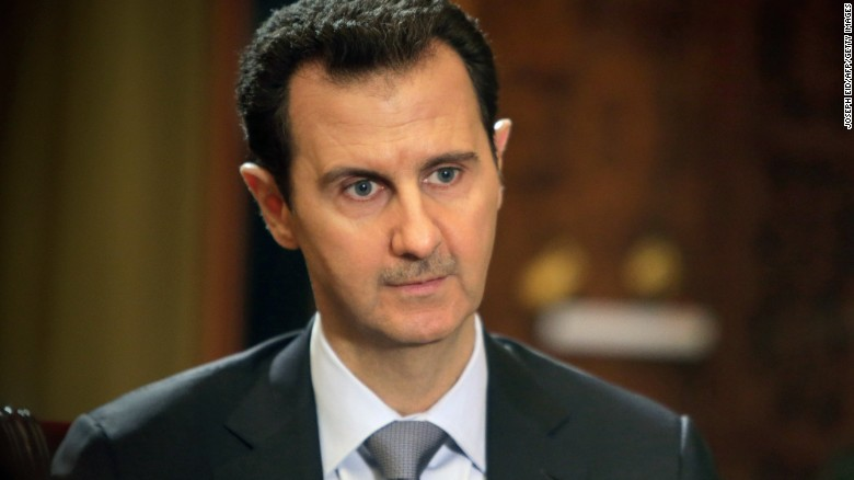 Gas attack a 'fabrication' - Syria's Assad