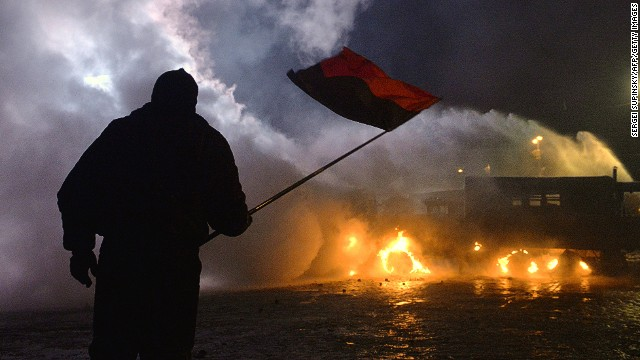 Clashes in the Ukraine