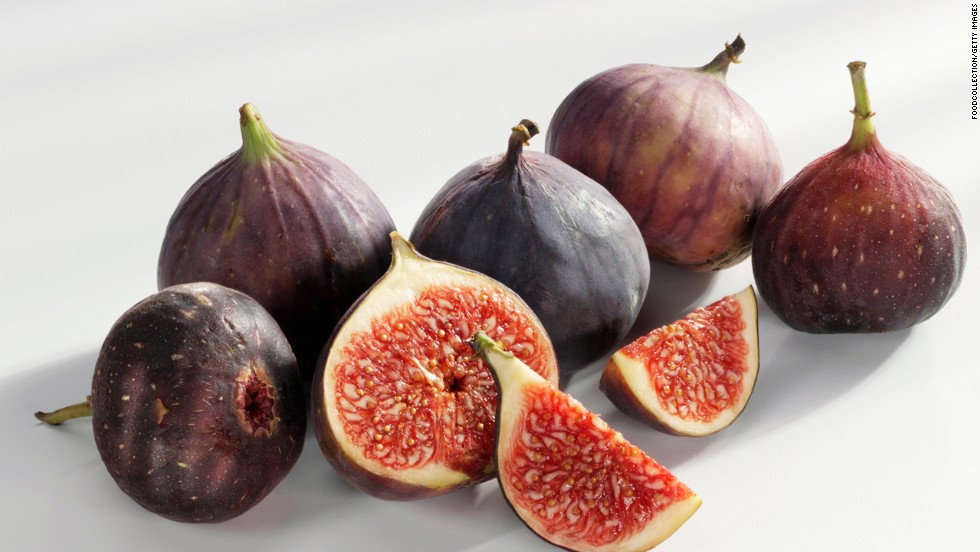 "<strong>Figs</strong><br /><br />A great natural cure for a sweet tooth, fresh figs have a dense consistency and sweet flesh that's high in fiber (each 37-calorie fig packs about a gram), which slows the release of sugar into the blood, preventing the erratic high caused by cookies or cake.<br /><strong><br />Feel even fuller:</strong> Halve and add protein, like a teaspoon of goat cheese and a walnut.<br /><br /><a href=""http://www.health.com/health/gallery/0,,20682477,00.html"" target=""_blank"">Health.com: 20 snacks that burn fat </a>"