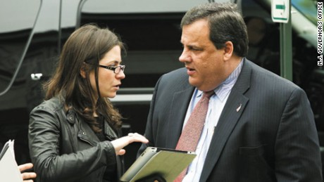 Maria Comella, Christie's top communications adviser, had been monitoring the media reaction weeks after the controversial decision to close several traffic lanes leading from New Jersey into New York in September.