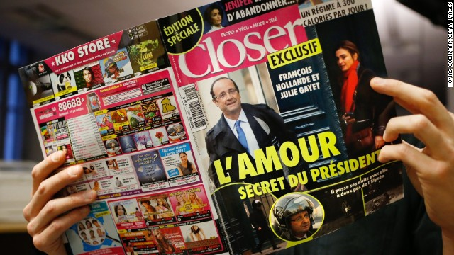 The women in Francois Hollande's life
